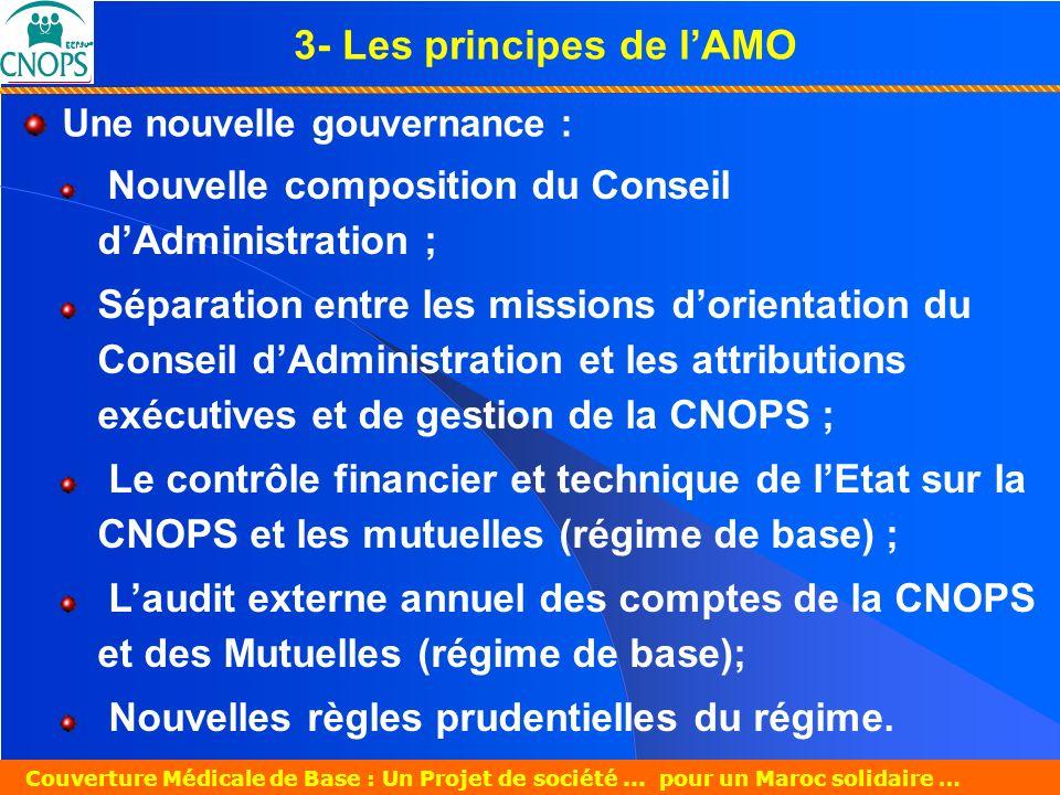 Un Projet de société pour un Maroc solidaire 26 mars 2007 Couverture Médicale de Base : Un Projet de société...