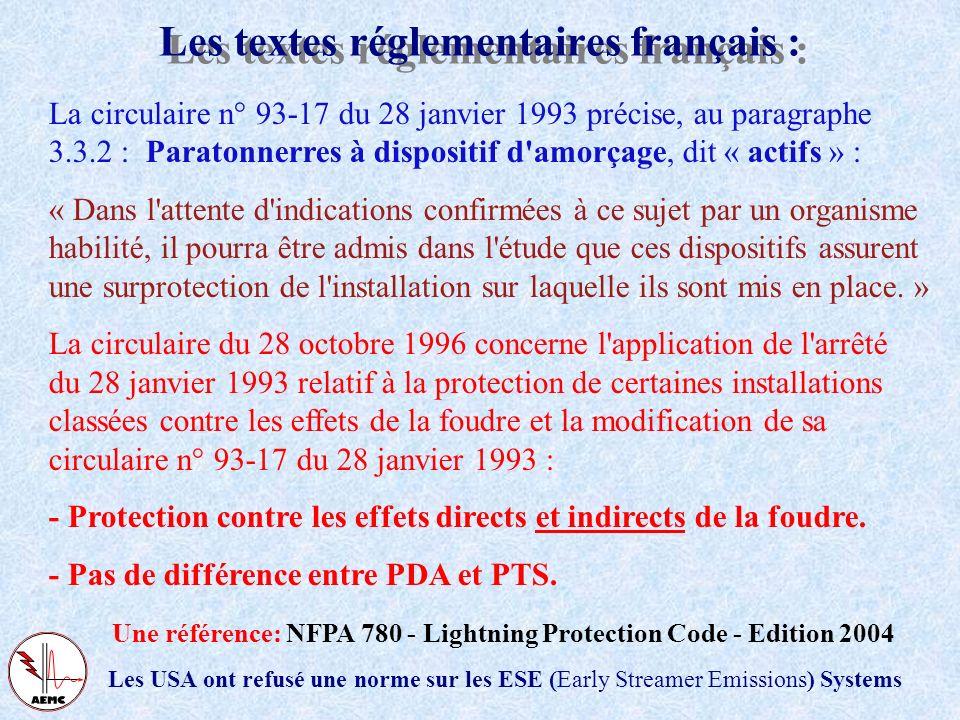 Historique du paratonnerre Le modèle électrogéométrique La norme NF C 17-102 Retours dexpériences Conclusions