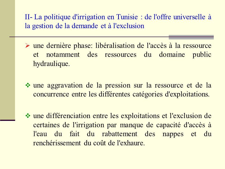 III- Agriculture et irrigation dans la r é gion de Sidi Bouzid Découpage administratif de Sidi Bouzid