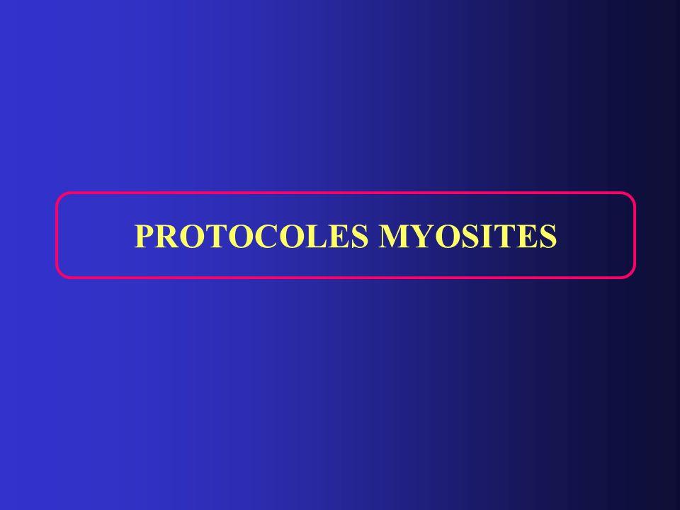 PROTOCOLES MYOSITES