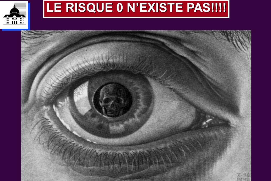 LE RISQUE 0 NEXISTE PAS!!!!