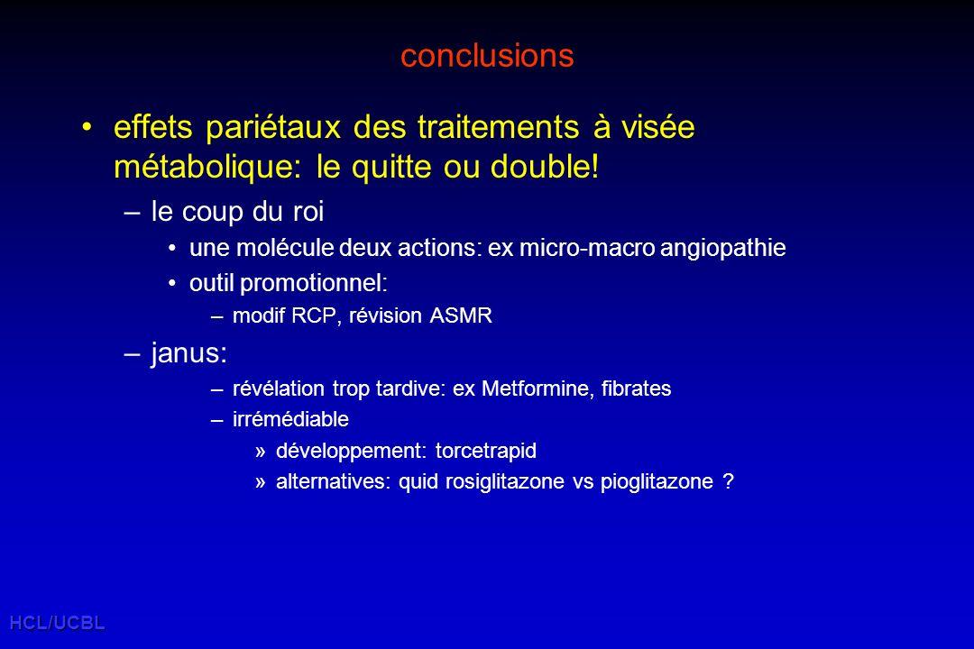 HCL/UCBL conclusions effets pariétaux des traitements à visée métabolique: le quitte ou double.
