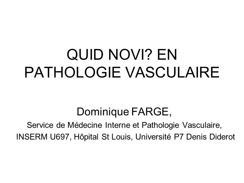 3 MTHS OUTCOMES in 512 PTS WITH ARM DVT according to the existence of cancer and/or KT Munoz et al Chest 2008 Analyse Univariée Risque Récidive ou Saignement Majeur: Age > 55 ans, Cancer, EP symptomatique