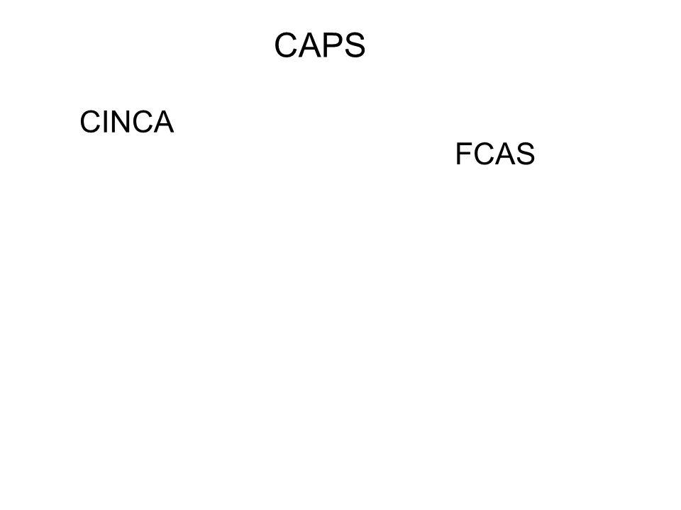 CAPS FCAS CINCA