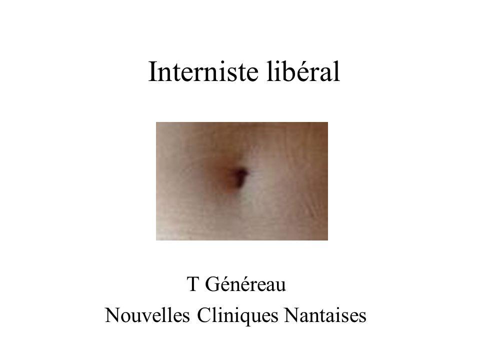 Interniste libéral T Généreau Nouvelles Cliniques Nantaises