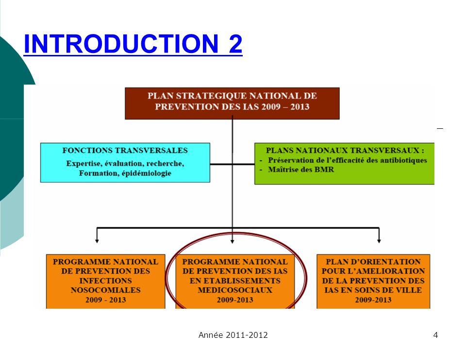 Prévention du risque infectieux : cause nationale.