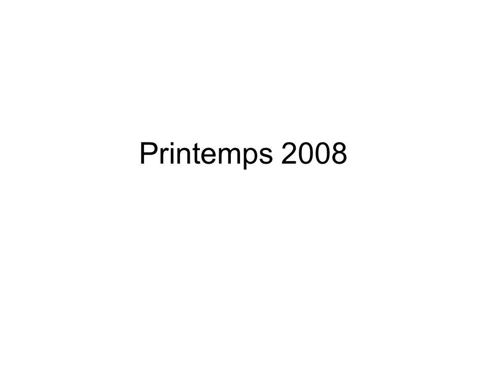 Printemps 2008