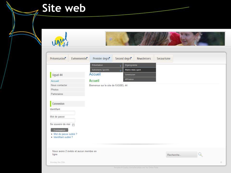 Site web 3 UGSEL 44 – 27 juin 2012