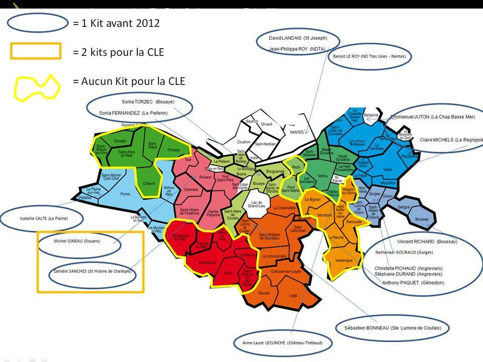 Les MRS / Les CLE 3 ~ RIAILLE ~ UGSEL 44 – 27 juin 2012