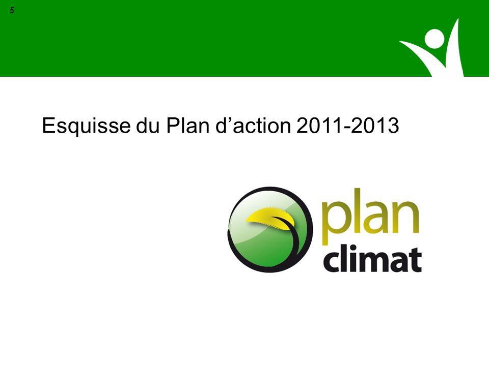 Esquisse du Plan daction 2011-2013 5