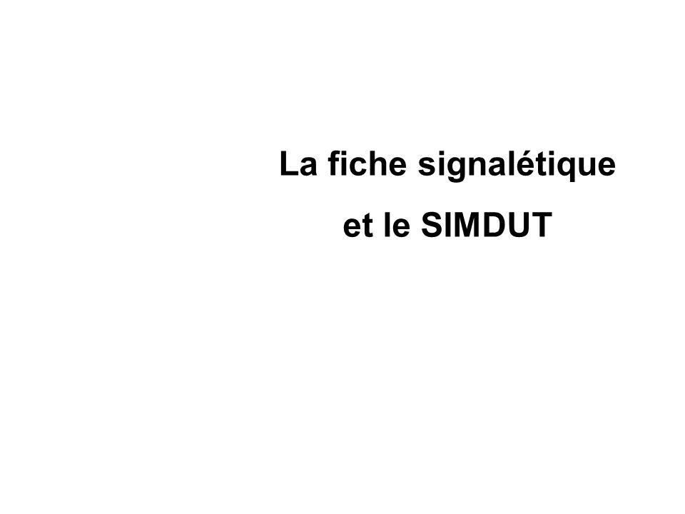 La fiche signalétique est un document qui complète létiquetage dun produit.
