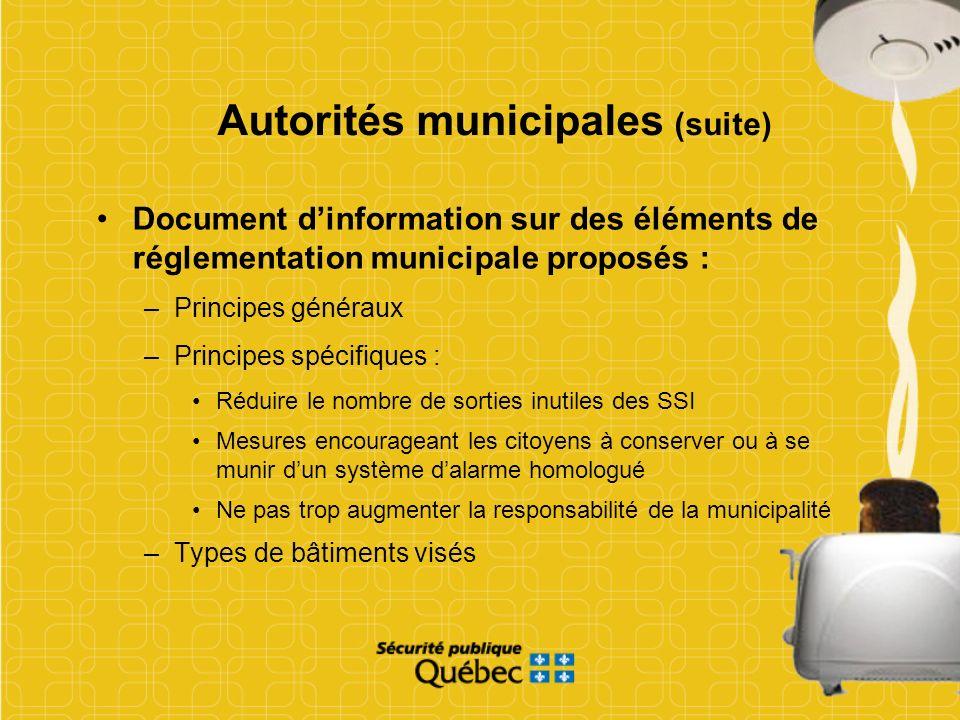 Document dinformation sur des éléments de réglementation municipale proposés : –Principes généraux –Principes spécifiques : Réduire le nombre de sorti