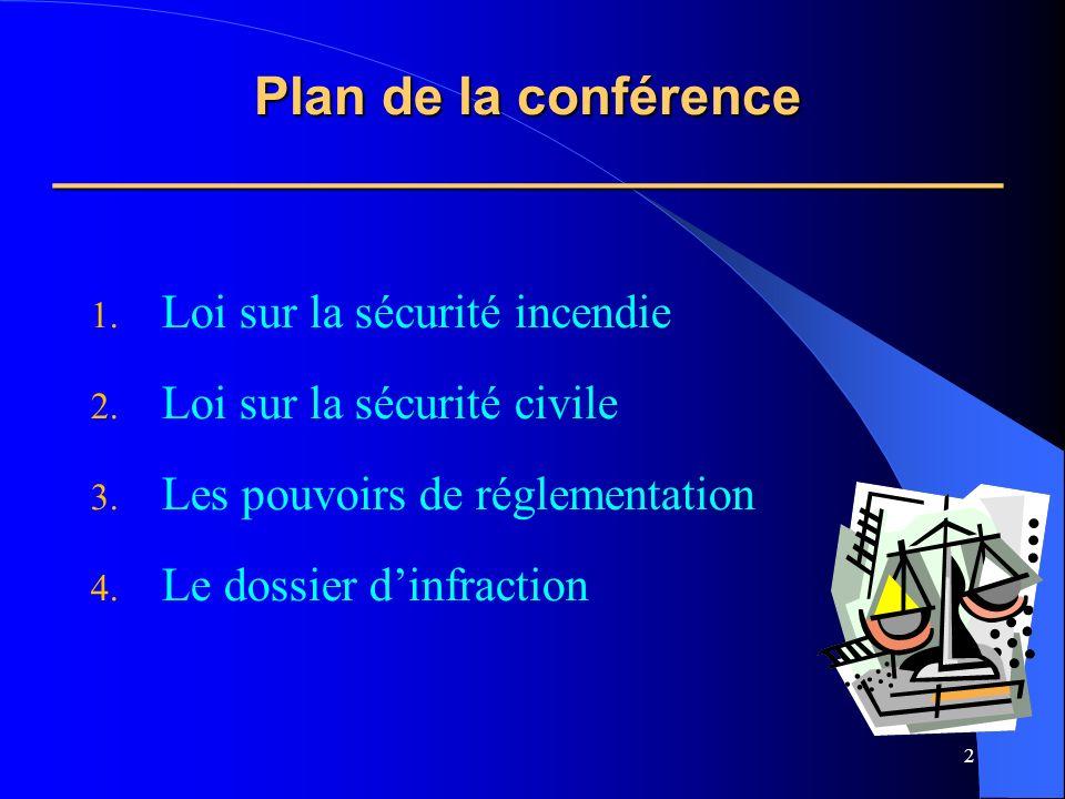 2 Plan de la conférence ________________________________ 1.