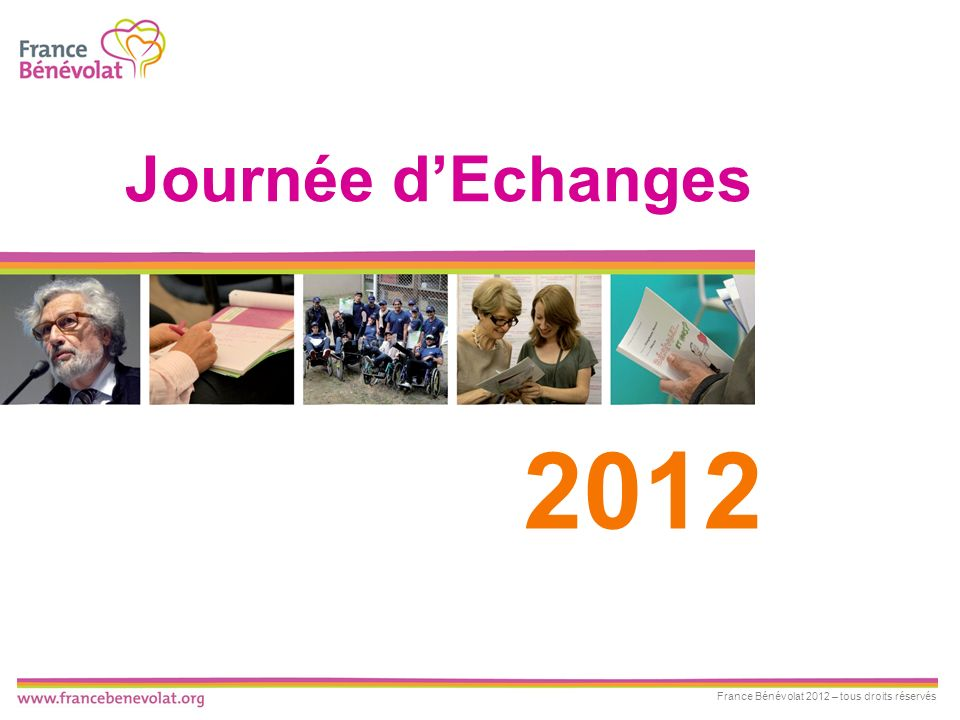 2012 Journée dEchanges