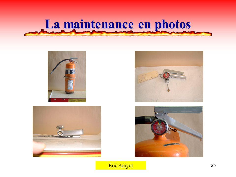 Pierre Rémillard35 La maintenance en photos Éric Amyot