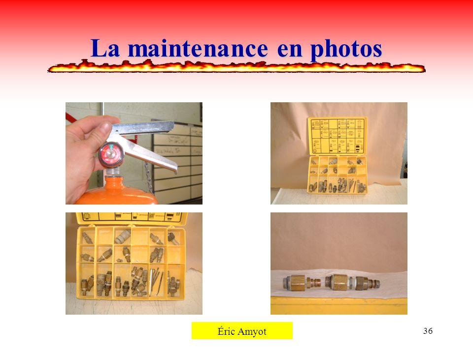 Pierre Rémillard36 La maintenance en photos Éric Amyot