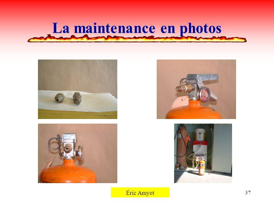 Pierre Rémillard37 La maintenance en photos Éric Amyot