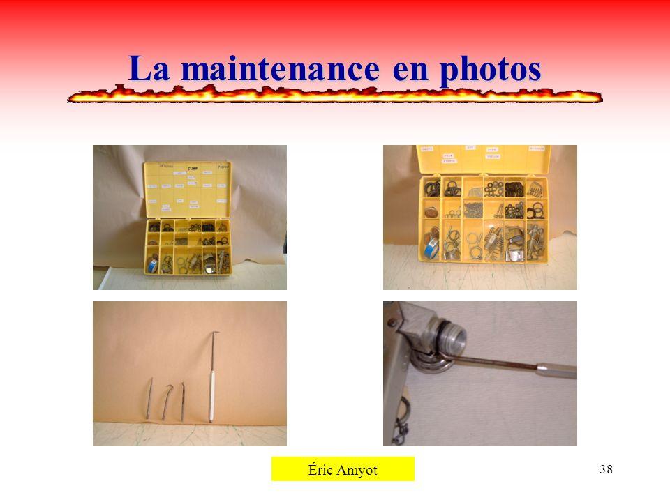 Pierre Rémillard38 La maintenance en photos Éric Amyot
