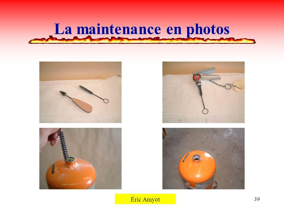 Pierre Rémillard39 La maintenance en photos Éric Amyot