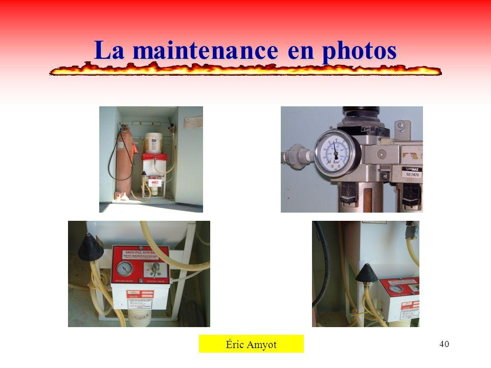 Pierre Rémillard40 La maintenance en photos Éric Amyot