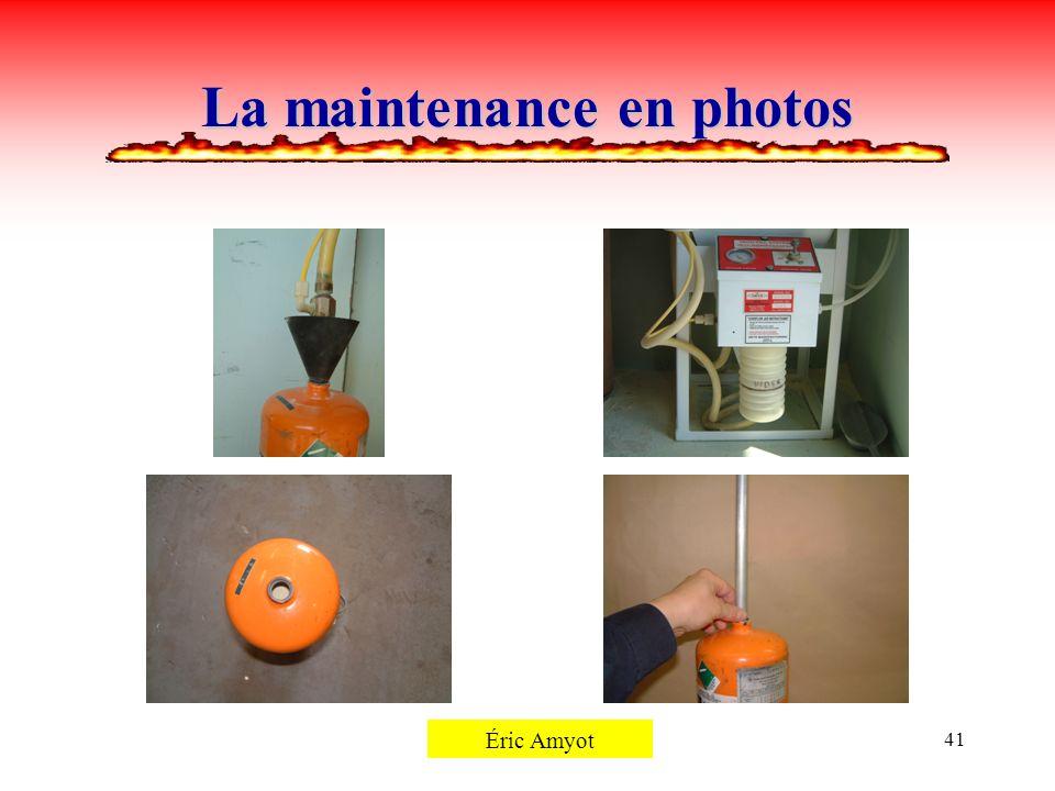 Pierre Rémillard41 La maintenance en photos Éric Amyot