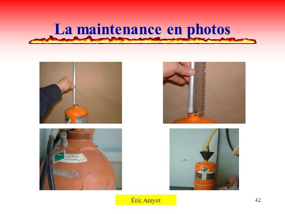 Pierre Rémillard42 La maintenance en photos Éric Amyot