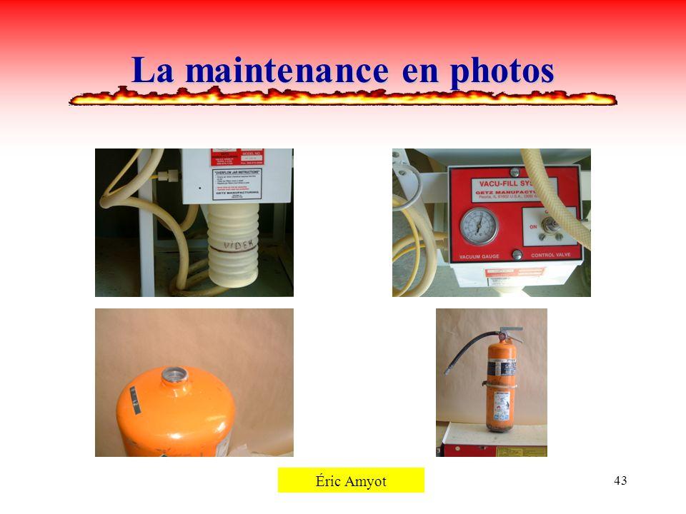 Pierre Rémillard43 La maintenance en photos Éric Amyot