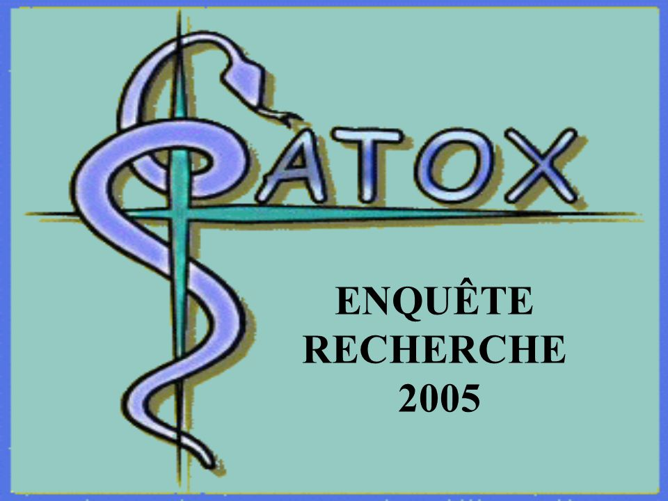ENQUÊTE RECHERCHE 2005