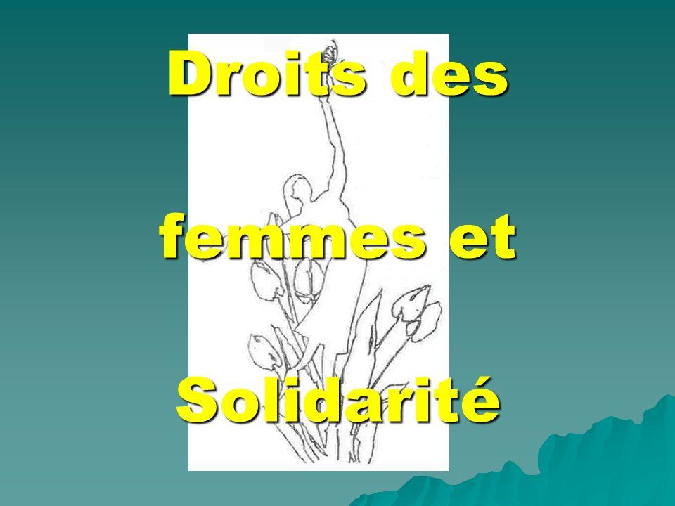 Droits des femmes et Solidarité