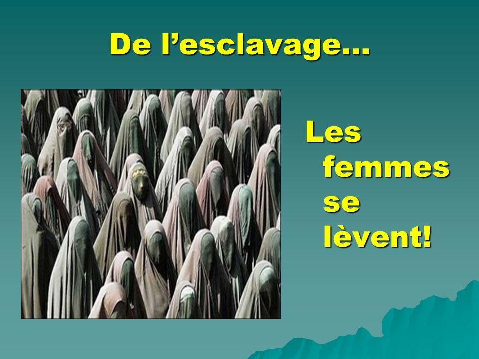 De lexclusion… Les femmes se lèvent!