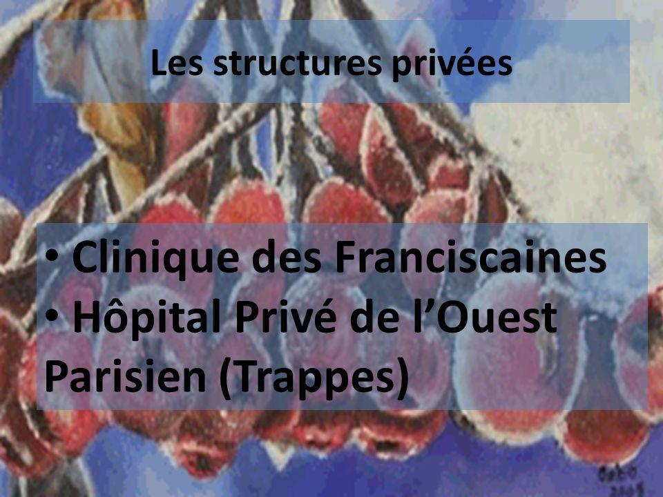 Les structures privées Clinique des Franciscaines Hôpital Privé de lOuest Parisien (Trappes)