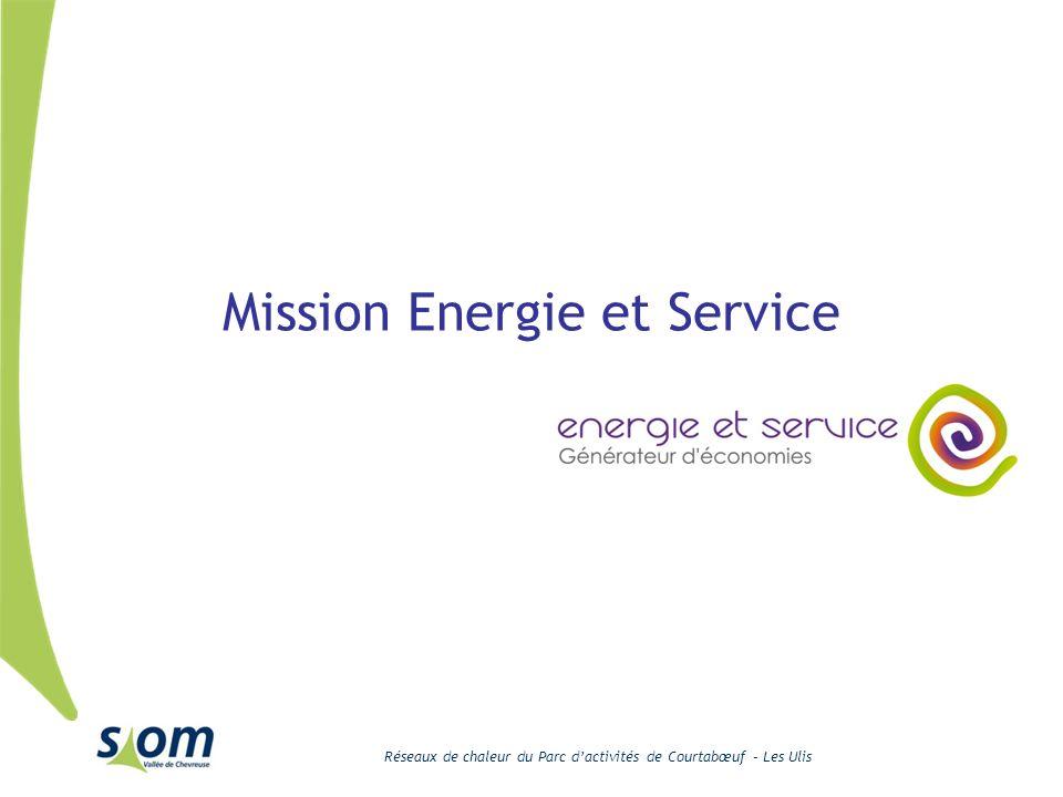 Réseaux de chaleur du Parc dactivités de Courtabœuf – Les Ulis Mission Energie et Service