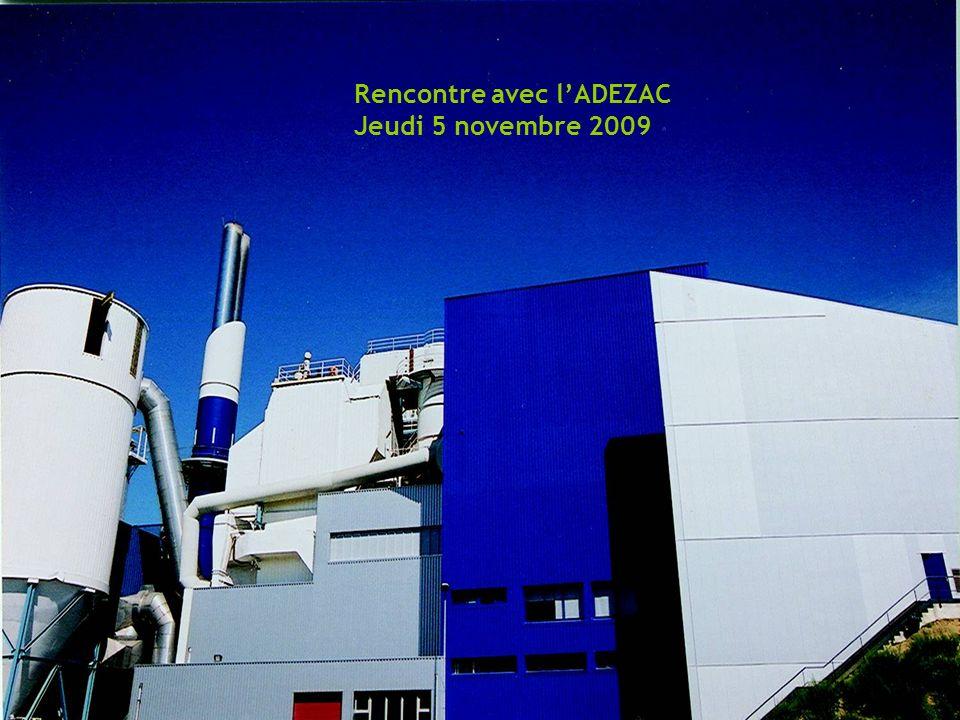 Réseaux de chaleur du Parc dactivités de Courtabœuf – Les Ulis Rencontre avec lADEZAC Jeudi 5 novembre 2009