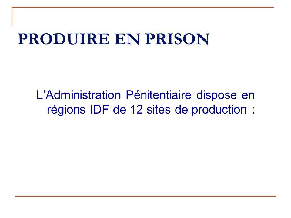 TRAVAIL PENITENTIAIRE L'administration pénitentiaire dans la mission qui lui est confiée par l'État, dassurer la garde des détenus sefforce de préveni