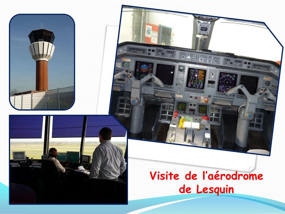 Visite de laérodrome de Lesquin