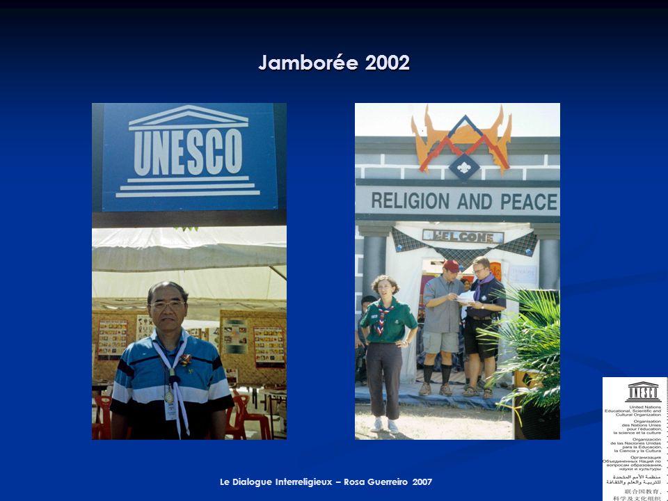 Le Dialogue Interreligieux – Rosa Guerreiro 2007 Jamborée 2002