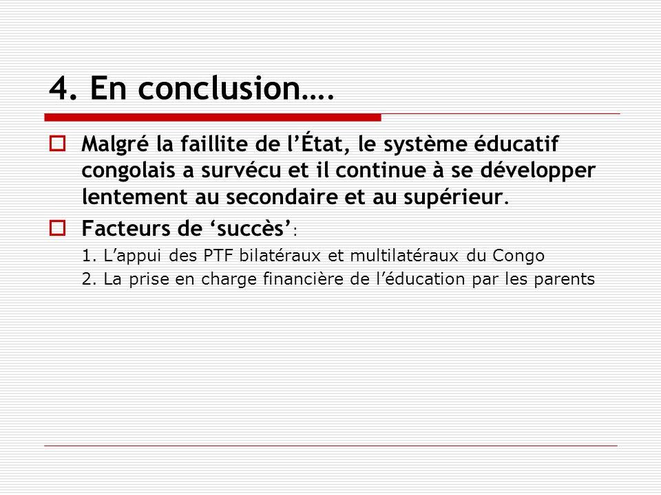 4. En conclusion….