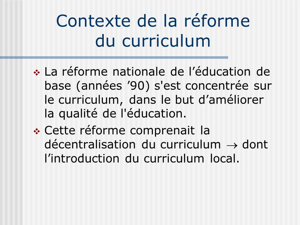 Quelques recommandations de lévaluation (1994-2000) (2) b.