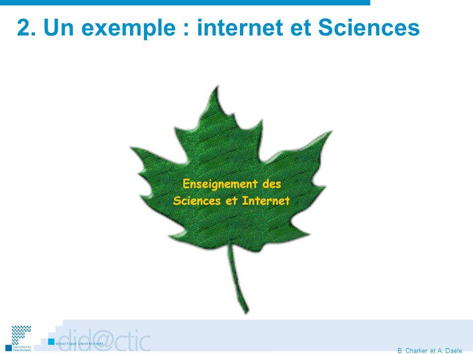 B.Charlier et A. Daele Le contexte... Lenseignement des sciences est-il dans le 36ème dessous .