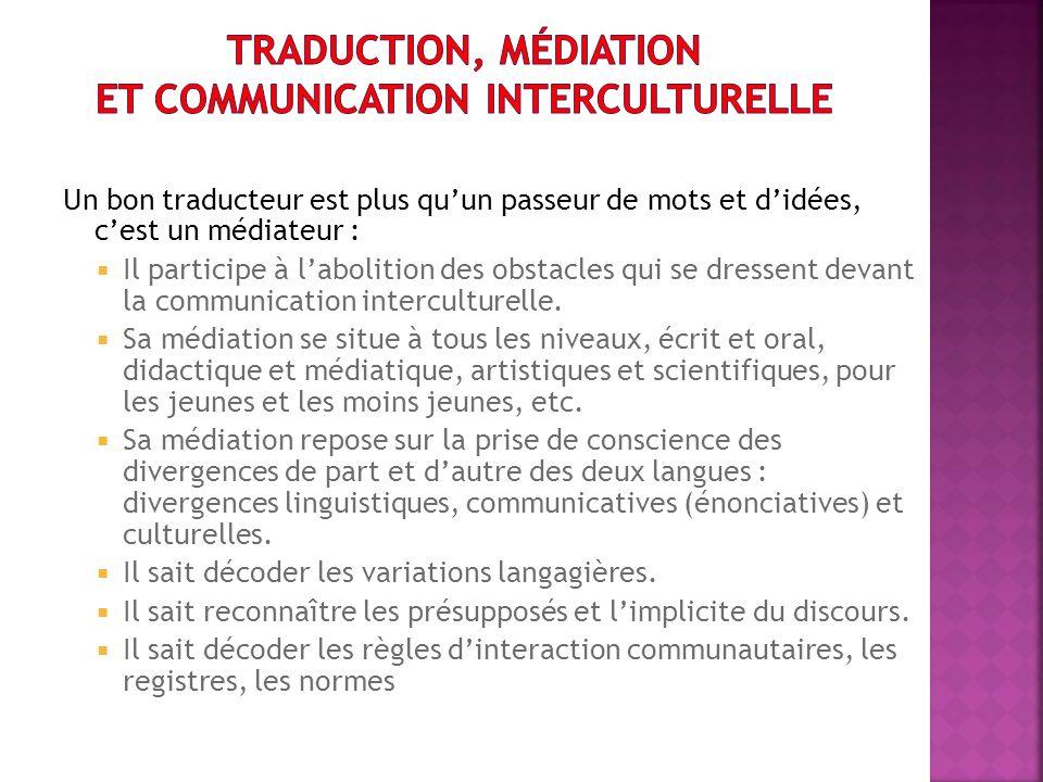 Deux points : Le traducteur est un médiateur Lavenir de la traduction dans le monde arabe