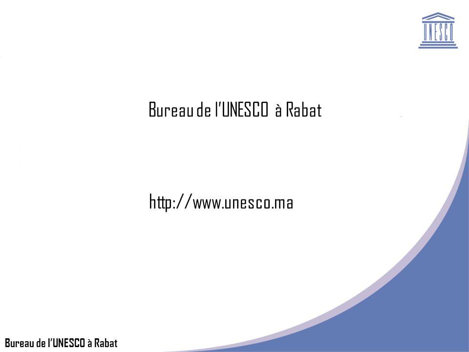 Bureau de lUNESCO à Rabat http://www.unesco.ma