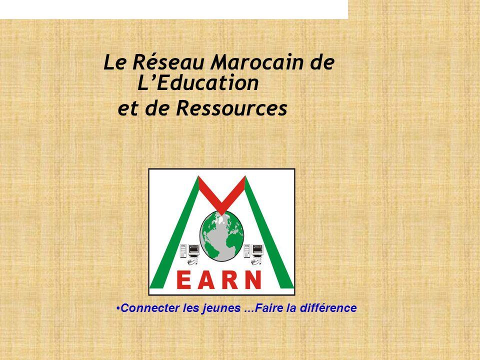 Le Réseau Marocain de LEducation et de Ressources Connecter les jeunes...Faire la différence