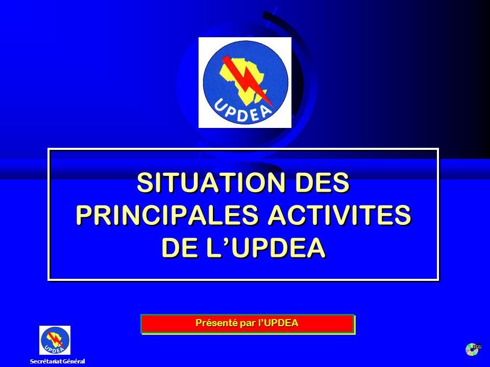 4ème Réunion du Comité Scientifique [Ouagadougou, 12 -14 marsl 2008] 2 I.BANQUE DE DONNEES DU SECTEUR ELECTRIQUE AFRICAIN II.FONDS AFRICAIN POUR LE DEVELOPPEMENT DE LELECTRIFICATION RURALE (FADER) III.COMMISSION ELECTROTECHNIQUE AFRICAIN DE NORMALISATION (AFSEC) IV.PROGRAMME PILOTE DELECTRIFICATION TRANSFRONTALIERE V.FORMATION VI.ETUDE DU BILAN DES REFORMES ENTREPRISES DANS LE SECTEUR DE LELECTRICITE EN AFRIQUE SOMMAIRE