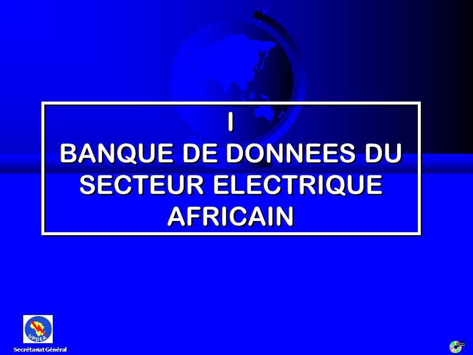 4ème Réunion du Comité Scientifique [Ouagadougou, 12 -14 marsl 2008] 24 2.1 Objectifs généraux F Accroître le taux délectrification sur le continent; F Renforcer la coopération entre sociétés africaines délectricité; F Favoriser lintégration régionale dans le secteur de lélectricité; F Renforcer les liens entre les peuples.