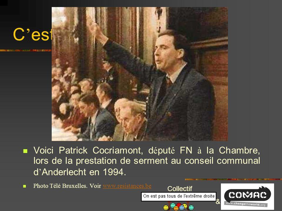 Collectif & Un fasciste de la premi è re heure au conseil communal à Charleroi ? ou pour avancer, pour retourner