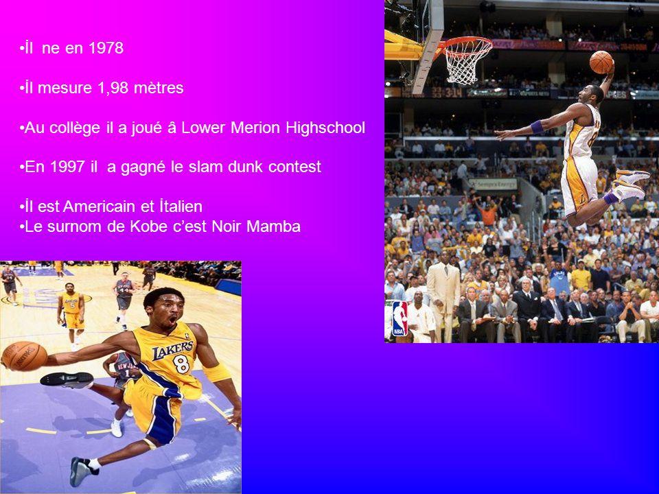 İl ne en 1978 İl mesure 1,98 mètres Au collège il a joué â Lower Merion Highschool En 1997 il a gagné le slam dunk contest İl est Americain et İtalien