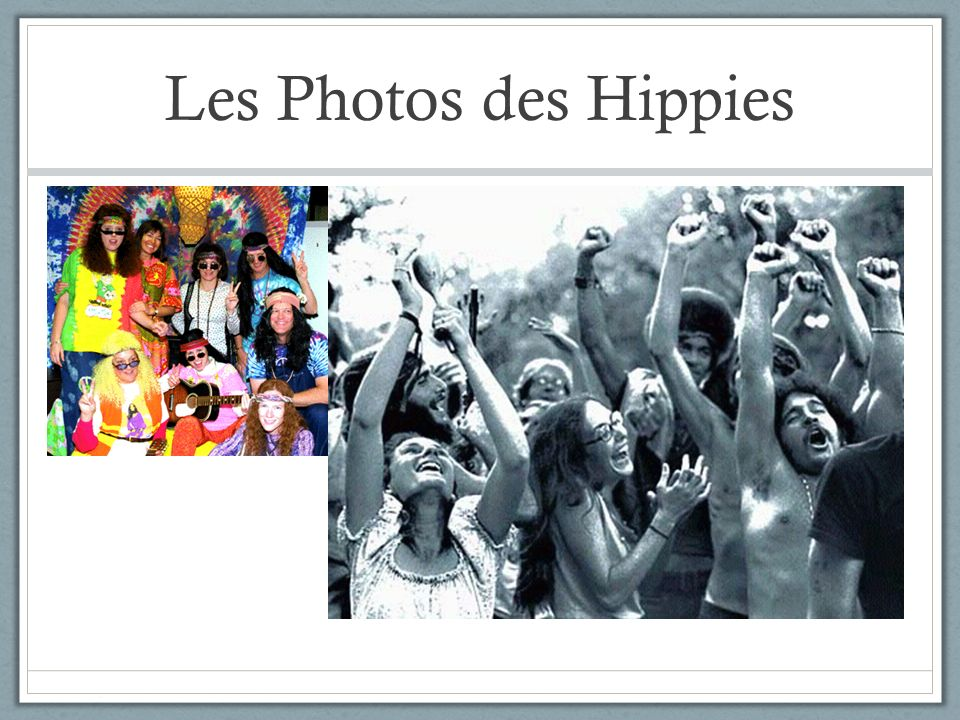 Les Photos des Hippies