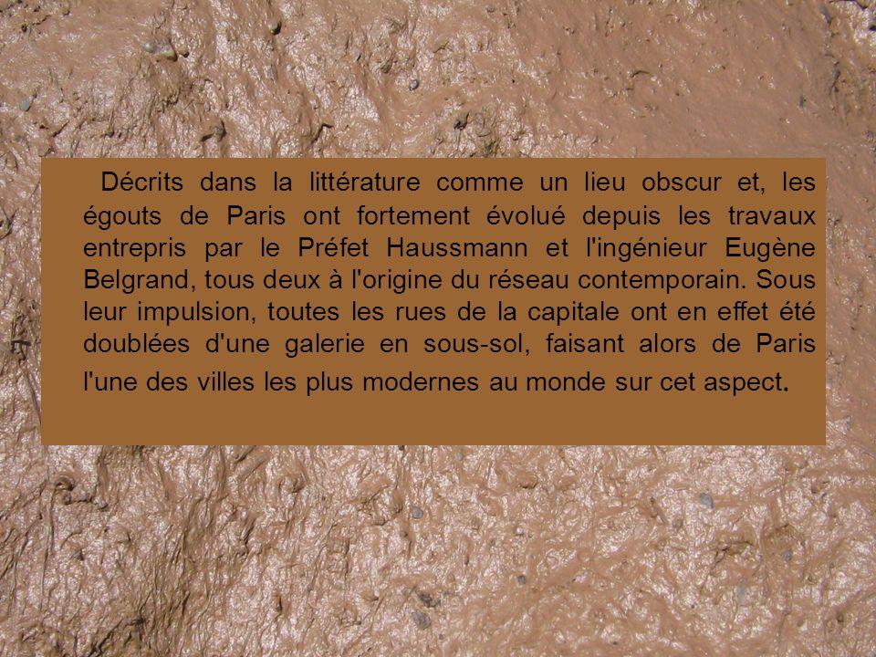 Caractéristiques du Réseau La particularité du réseau d égouts de Paris tient en trois points indissociables : C est un réseau unitaire C est un réseau gravitaire C est un réseau visitable