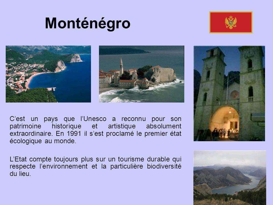 Cest un pays que lUnesco a reconnu pour son patrimoine historique et artistique absolument extraordinaire. En 1991 il sest proclamé le premier état éc
