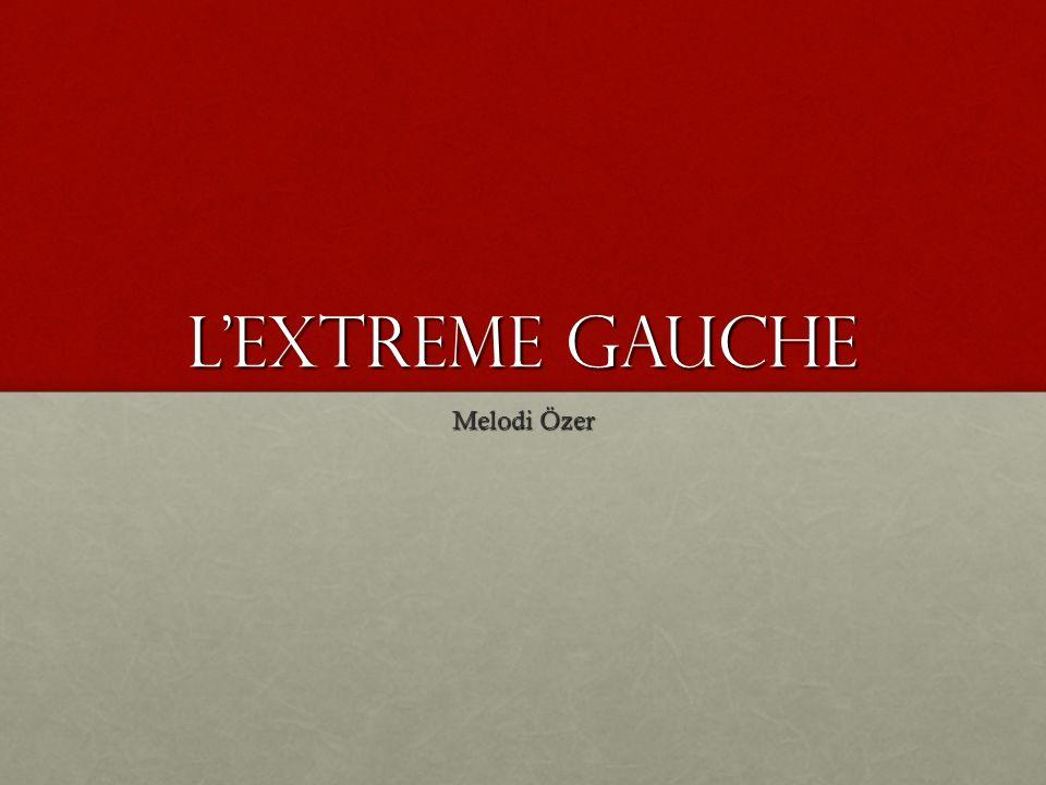 Lextreme Gauche Melodi Özer